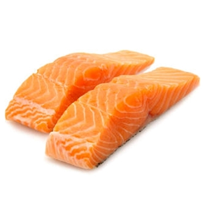 Picture of ATLANTIC SALMON PORTIONS SKIN ON 1X5KG