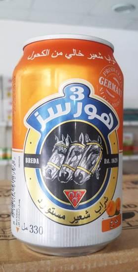صورة ماء شعير خوخ 3 أجياد ( 330 مل*24 علبة