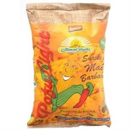 Picture of POFULIGHT ORGANIC  CORN HOT BARBEQUE 38 GM