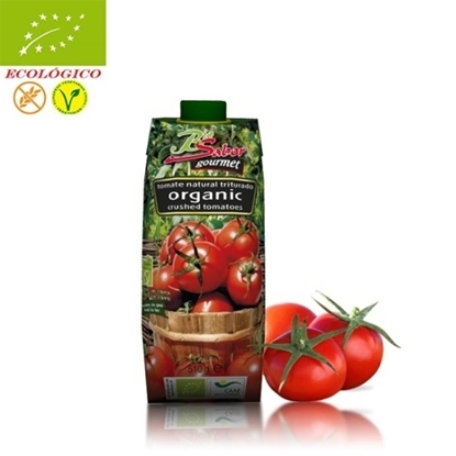 Picture of BIOSABOR ORGANIC CRUSHED TOMATO 510 GM