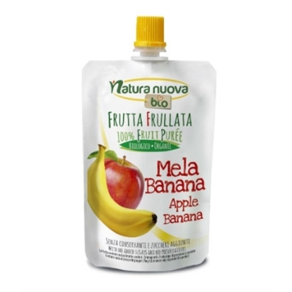 Picture of NATURANUOVA ORGANIC APPLE BANANA PUREE 100 GM