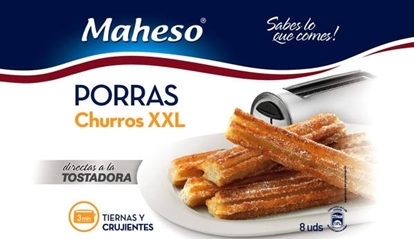 Picture of MAHESO PORRAS CHURROS XXL 320 GM