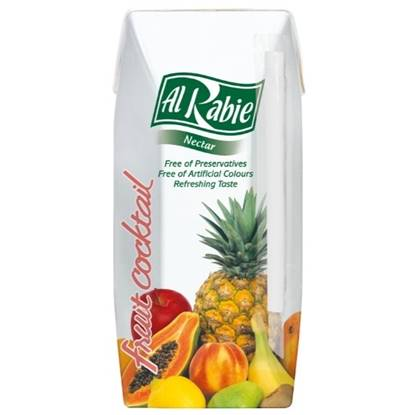 Picture of AL RABIE Fruit Cocktail Nectar 200 ml