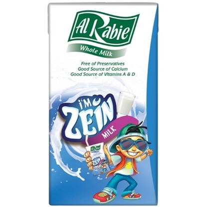 Picture of Al Rabie I m Zein Whole Milk 125 ml.