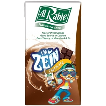 Picture of Al Rabie I m Zein Chocolate Milk 125 ml.