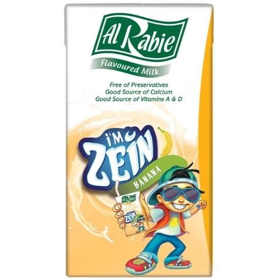 Picture of Al Rabie I m Zein Banana Milk 125 ml.