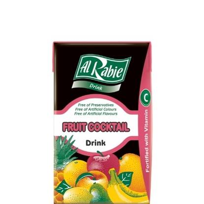 Picture of AL RABIE Fruit Cocktail Drink 27 X 250 ml.
