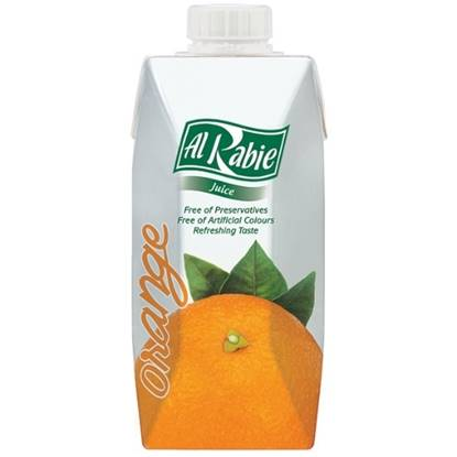 Picture of AL RABIE Orange Juice 330 ml