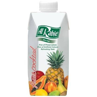 Picture of AL RABIE Fruit Cocktail Nectar 330 ml