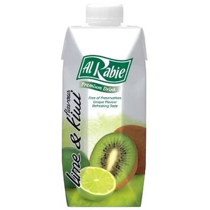 Picture of AL RABIE Kiwi & Lime P. Drink 330 ml