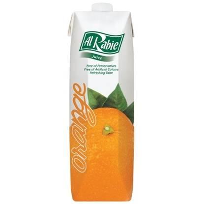 Picture of AL RABIE Orange Juice 1 Ltr