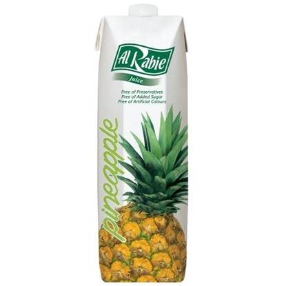 Picture of AL RABIE Pineapple Juice 1 Ltr