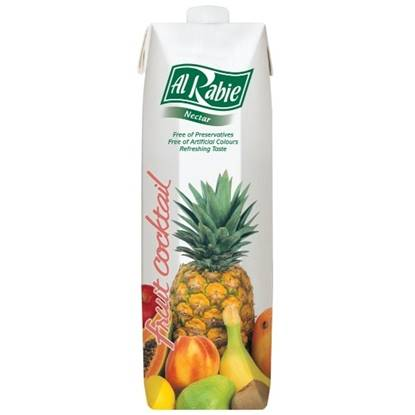Picture of AL RABIE Fruit Cocktail Nectar 1 Ltr