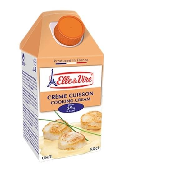 Picture of ELLE&VIRE Excellence Cooking cream 35% FAT 1Ltr*12