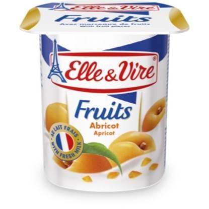 """Picture of E&V Dairy Desser """"Apricot"""" 125 g"""