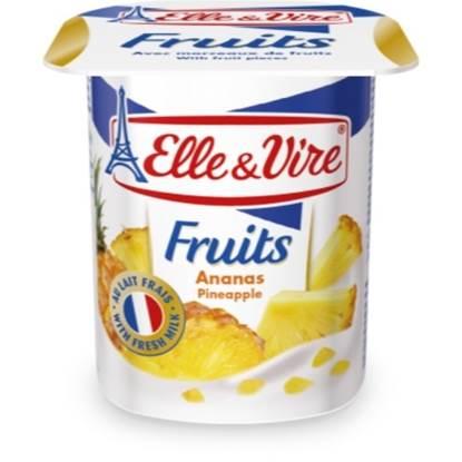 """Picture of E&V Dairy Dessert """"Ananas"""" 125 g"""