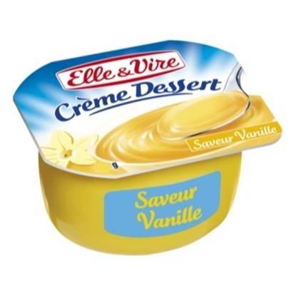 Picture of ELLE&VIRE  Creme Dessert Vanilla 100 g