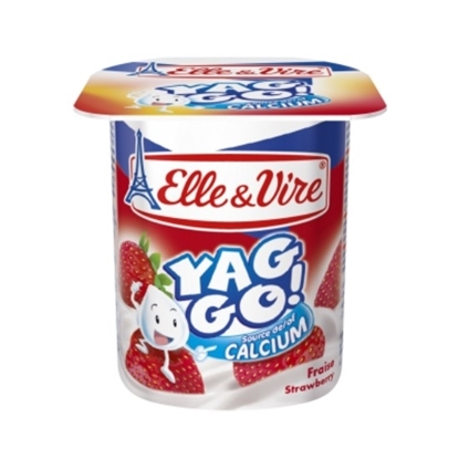"Picture of E&V Yaggo Dairy Dessert ""Strawberry Pulp"" 125 g"