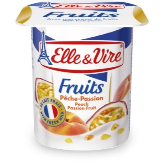 "Picture of E&V Dairy Desser ""Peach"" 125 g"
