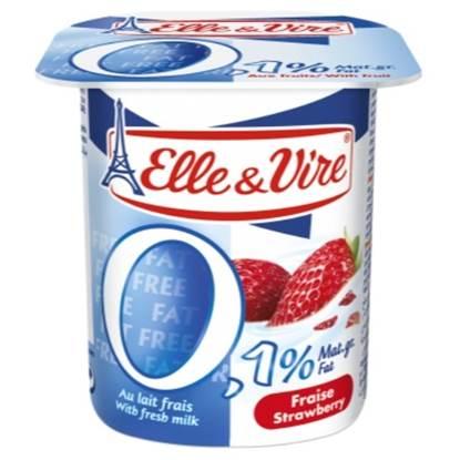 "Picture of E&V Light Dairy Dessert ""Strawberry"" 125 g"