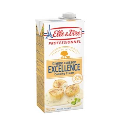 Picture of ELLE&VIRE COOKING CREAM 1 Ltr