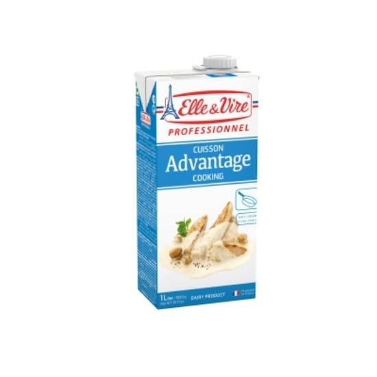 Picture of ELLE&VIRE Avantage Cooking Cream 1 Ltr*6