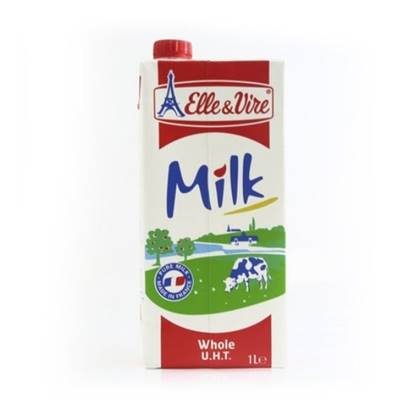 Picture of ELLE&VIRE UHT whole  MILK 1LT