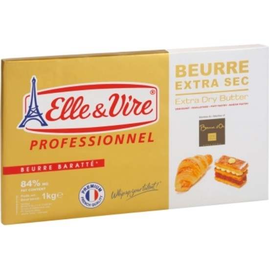 Picture of E&V Butter Unsalted Croissant 84% Extra Dry