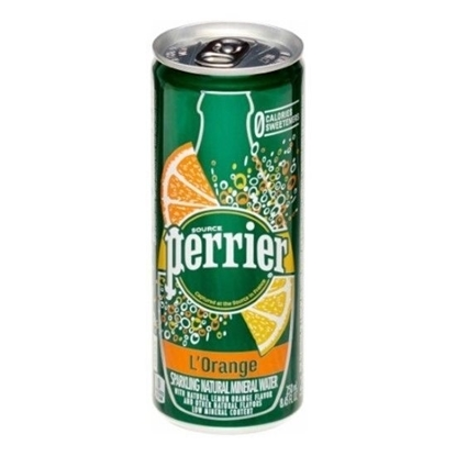 Picture of Perrier Orange 250ML CAN