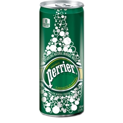 Picture of PERRIER MINERAL WATER SLIM CAN 250 ML