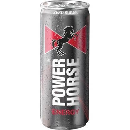 الصورة: باور هورس مشروب الطاقة علب بدون سكر 250 مل