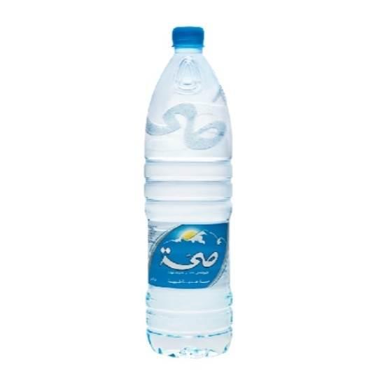 صورة صحة مياه شرب معدنية  1.500 لتر عبوة بلاستك