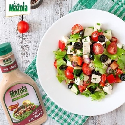 Picture of Mazola Dressing 1000 Island salad 473 ML