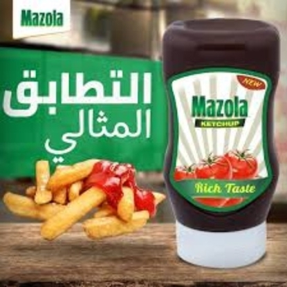 Picture of Mazola Ketchup PET 350 ML