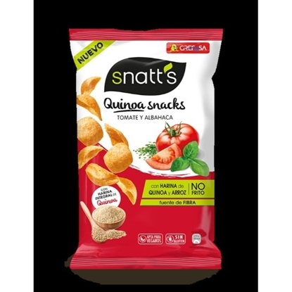 Picture of SNATT'S QUINOA CHIPS TOMATO BASIL 85 GM