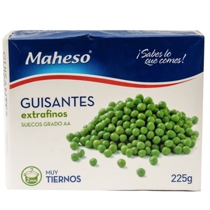 Picture of MAHESO GUISANTES EXTRA FINE PEAS 225 GM
