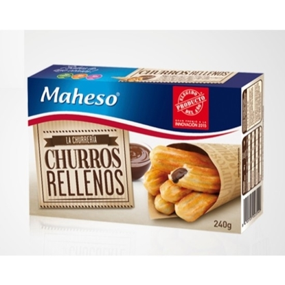 Picture of MAHESO CHURROS RELLENOS 240 GM