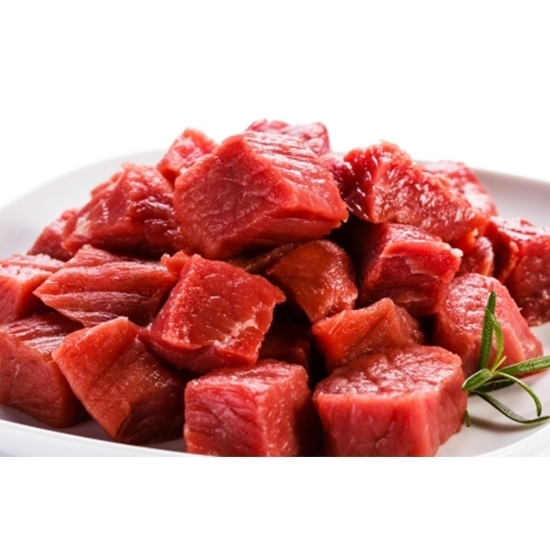 Picture of African chilled veal meat small cuts