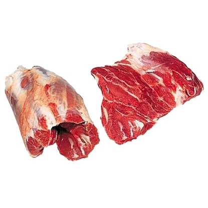 Picture of African chilled veal meat without bones