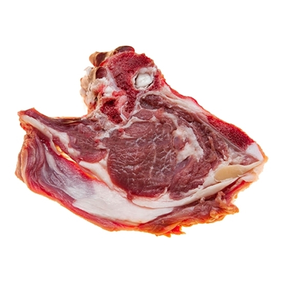 Picture of Arabic fresh lamb meat without bones