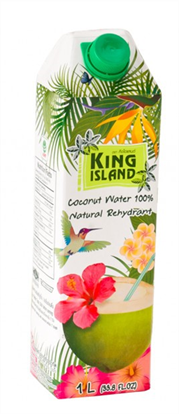 الصورة: King Island Pure COCONUT WATER DRINK  1 liter
