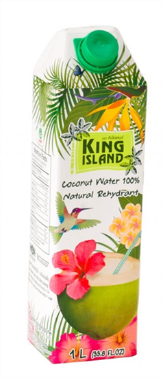 صورة King Island Pure COCONUT WATER DRINK  1 liter