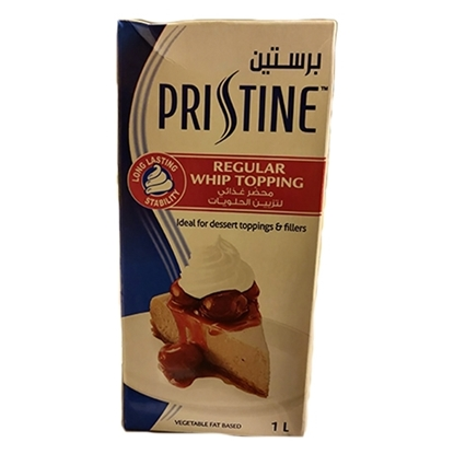 Picture of Pristine Whipping Cream Jordan recipe  12x 1 ltr Tetra pack
