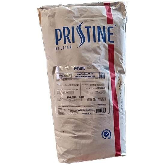 Picture of Pristine Dessert Mixes Professional Instant Custard Mix 10 kg Paper Bags