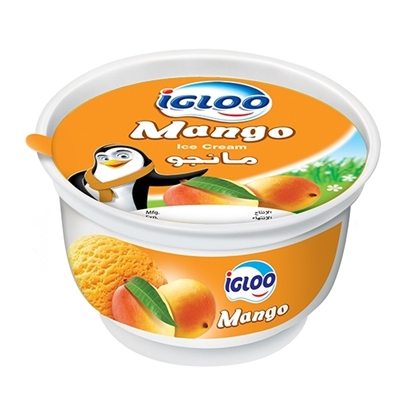 Picture of Igloo Cup Mango  4x12x125ml