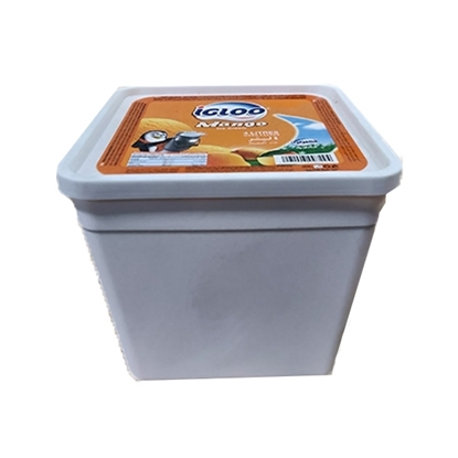 Picture of Igloo Ice Cream Tub Mango  4x4 Ltr