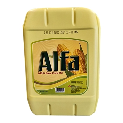 Picture of Alfa Corn oil Jerry Can  2x 9ltr