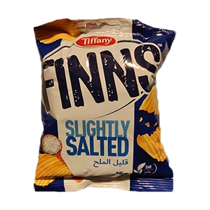Picture of Finns Tiffany Crinkled Potato Chips Salt 100x 15g Flow Pack