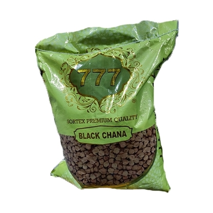 Picture of 777 Pulses Black chick peas 1x 15kg Bag