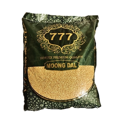 Picture of 777 Pulses Moong Dal Whole 1x 15kg Bag